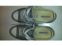 Converse All Star boys shoes grey size 1