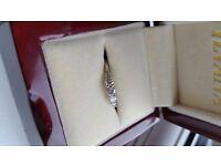Brand New 18ct White Gold Diamond Ring