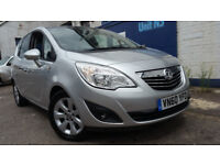 2011 VAUXHALL MERIVA MPV 5DR 1.4 TURBO FULL SERVICE LOW MILEAGE EXCELLENT COND
