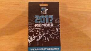 """PORT ADELAIDE ADULT PLATINUM """"A""""  UNDER COVER SEAT FOR SEASON Glenelg Holdfast Bay Preview"""