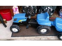 Rolly kids New Holland Tractor