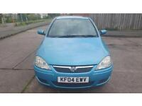 Vauxhall corsa 2004 plate 1.2 5 door