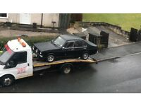 Car recovery and breakdown service 24hr