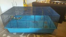 Large hamster/ guinea pigs cage