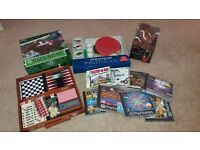 Various board games and computer games