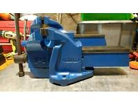 """Record no 6 Bench vice 6"""" jaws great working order now refurbished."""