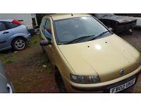 2002 Fiat Punto Spares or Repair £150 ono