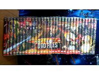 Doctor Who DVD files (1 to 30 , plus a special)