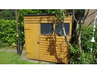 7' x 5' Shed-Plus Overlap Pent Shed (2.00x1.54m)