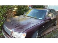 lexus ls400 2000 spares or repair, runs and drives, been standing a few monthes