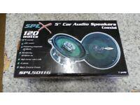 Speakers 120 watts pair