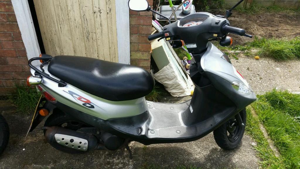 Sym Dd50 Scooter For Sale In Lowestoft Suffolk Gumtree