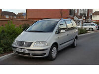 2009-59 Reg New Shape Volkswagen Sharan 1.9 TDI Auto - 7 Seater - FSH - Diesel - MPV -