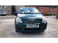 Toyota Yaris T3 1L 5 Door. (Cheap Road TAX)
