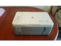 HP Deskjet F2280 All- In- One Scanner Printer Copier.