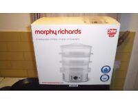 Morphy Richards 3 Tier Steamer