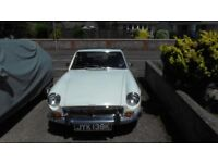 MGB GT Automatic 1971 White
