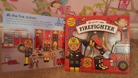 Firefighter book set - brand new