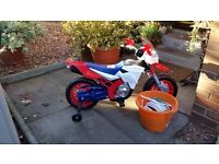KIDS ELECTRIC MOTORBIKE 3-6YRS WAS £160 SELL FOR £80