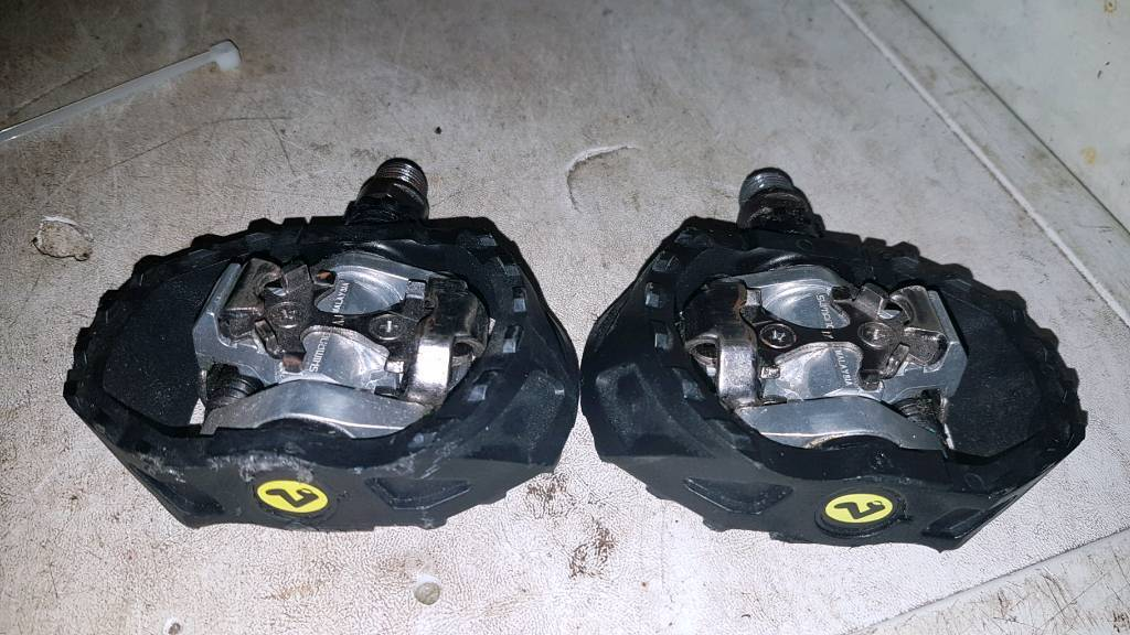 Shimano m424 spd pedals hardly used