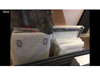 New Radiator 50x80cm double panel double