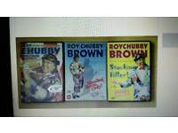 Chubby Brown dvds x 3