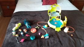 Octonauts Deep Sea Octolab, Gups & Characters