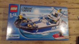 LEGO CITY BOAT SET