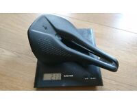Specialized power expert saddle, carbon base, hollow ti rails