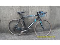 DAWES GIRO 300 RACING BIKE 21in/54cm ALLOY FRAME NEW TYRES AND BAR TAPE