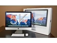 iMac 27 Retina 5k, 8GB, 1TB, 3.5Ghz i5 with warranty