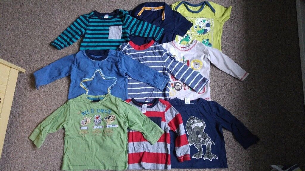 Size 9-12 month tops