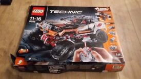 Very Rare Lego 4x4 Lego Technic 9398