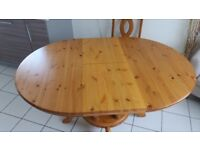 Pineology Table and 4 Chairs