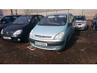 2003 CITROEN XSARA PICASSO LX 8V, 1.6 PETROL, BREAKING FOR PARTS ONLY, POSTAGE AVAILABLE NATIONWIDE