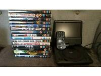 Portable DVD Player and DVDs