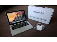 "APPLE MACBOOK PRO 13"" INCH LATE 2011 INTEL i7 CORE 2.8 GHz 4GB RAM 750GB GREAT CONDITION!"
