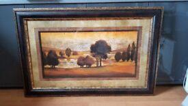 Large framed Autumnal Artist Print by J.Lane 2 of 3