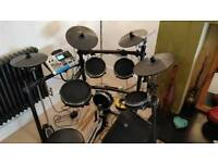 Alesis DM10 Electic Drum Kit + Amp, barely used