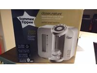 Tommee tippee perfect prep machine.Excellent condition, boxed with instructions and like new.