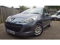 Peugeot 207 2010 1.4l with low mileage