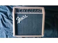 Fender acoustasonic 15 acoustic guitar amplifer