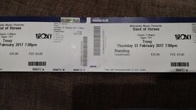 X2 band of horses tickets. Troxy London. 23rd Feb. Sold out!