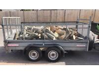 Mixed logs 10x5 trailer load