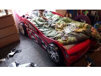Racing car bed (no mattress