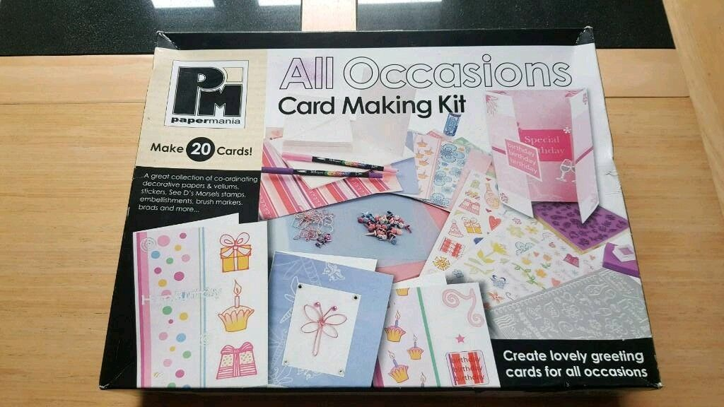 Card Making Kit (Christmas Cards - Birthday Cards) | in Ross-on-Wye ...