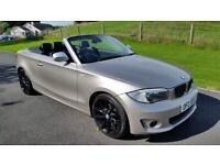 *!*FULL YEARS MOT*!* BEAUTIFUL 2012 BMW 1 SERIES 118 2.0 LITRE DIESEL CONVERTIBLE **
