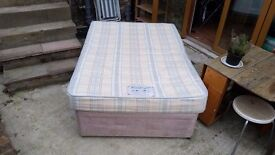Free mattress and bed (with drawers)