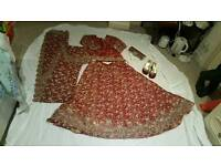 Asian Wedding dress lengha RRP 1,299