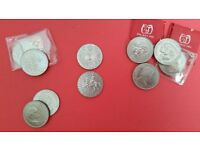 COMMEMORATIVE COINS - Queens Silver Jubilee, Churchill, Charles and Diana, Queen Mother